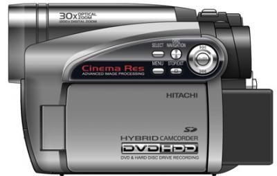 hitachi hybrid camcorder